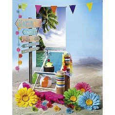 Dekoidee Strandparty Ein lauer Sommerabend am Strand lädt zur Strandparty ein. Mit Wasserbällen, Pina Colada und Haiwaikette können die Stunden in der Runde ausgekostet werden. Mit dem Wegweiser finden Sie auch immer den richtigen Weg.  http://www.decowoerner.com/de/Saison-Deko-10715/Sommer-10744/Komplette-Dekoideen-Sommer-11325/Dekoidee-Strandparty-627.351.00.html