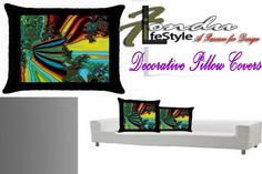 Melted BomPop Decorative throw Pillow Home Accent | FonduLifeStyle - Patterns on ArtFire