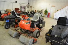 2007 Jacobsen GK IV Diesel 9 Bladed w/1404 hrs for sale