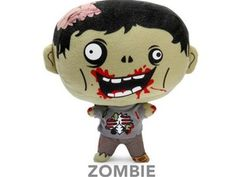 Feasting Electronic Horror Plush - Zombie