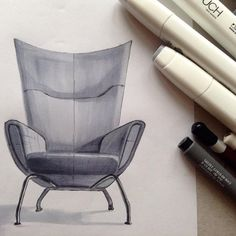 #interiorsketching