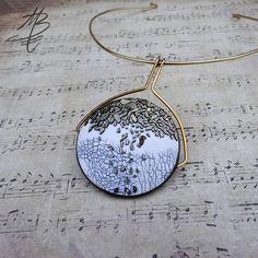 polymer jewelry - Martina Buriánová - my technique - Crackled