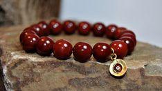 FREE SHIPPING Men bracelet Men's beaded bracelet by FosforStore, $36.00