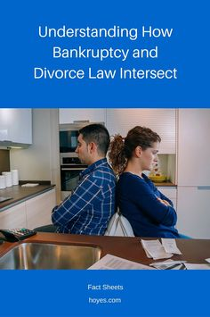 Bankruptcy law and divorce