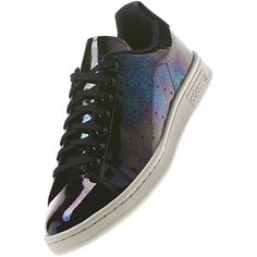 Adidas STAN SMITH originals Trainers Sneakers Shoes 9.5 shiny patent wet look tl   eBay