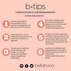 Tips para evitar el encrespamiento del cabello. Descubre los mejores tratamientos para tu cabello y para evitar el frizz desde Bellahora.