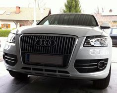 Q5 front tuning in white