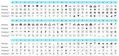 Geocaching, Workplace, Periodic Table, Printer, Sheet Music, Coding, Symbols, Words, Image