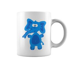 Blue Elephant Coffee Mug | Best T-Shirts USA are very happy to make you beutiful - Shirts as unique as you are.