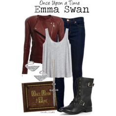 Once Upon a Time Emma Swan Outfit Disney Bound Outfits, Disney Inspired Outfits, Themed Outfits, Cute Fall Outfits, Cool Outfits, Casual Outfits, Fashion Outfits, Female Outfits, Once Upon A Time