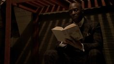 "http://www.nypl.org/blog/2012/06/01/bookshelves-boardwalk-empire Boardwalk Empire, Season 2 Episode 2 (Ourselves Alone) Charles Dickens | David Copperfield.     Chalky White cannot read and when asked in jail what book he was reading he replied ""Tom Sawyer""."