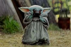 Star Wars Meme, Star Wars Fan Art, Yoda Gif, Yoda Meme, Yoda Pictures, Funny Pictures, Cuadros Star Wars, Star Wars Baby, Cultura Pop