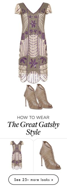 Designer Clothes, Shoes & Bags for Women Flirting With Your Husband, 20s Party, 20s Fashion, The Great Gatsby, Night Looks, Alternative Fashion, Polyvore, Stuff To Buy, Clothes