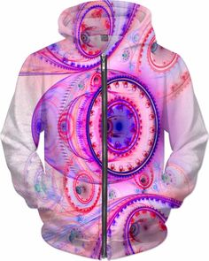 NBK Deejay Jet Trance Custom Rave Rebel Revolution Style Zip Hoodie by Willy Badu.