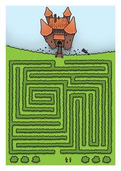 Doolhof Minipret Nl Lente Puzzels Pinterest