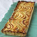 Tarte aux pommes avec la crème pâtissière extra de Christophe Felder