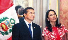 La pareja. El presidente Ollanta Humala y la primera dama, Nadine Heredia, bajo la mira de apristas y fujimoristas que buscan volver al poder en el 2016.