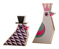 bo concept wooden birds