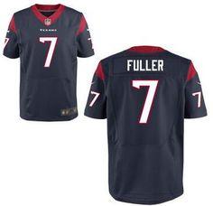 Houston Texans #7 Will Fuller Nike Navy Blue Elite 2016 Draft Pick Jersey