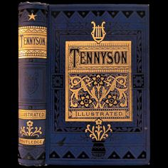 1880 ALFRED TENNYSON POEMS RARE ILLUSTRATED VICTORIAN FINE BINDING ENGRAVINGS