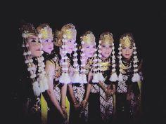 Traditional dance, indonesia - kandagan
