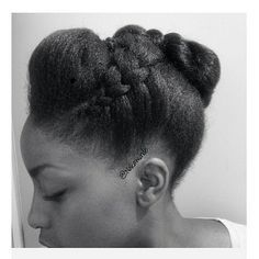 Protective Styles The Best Way to Save Your Hair Natural Afro Hairstyles, Natural Hair Updo, Pelo Natural, African Hairstyles, Cool Hairstyles, Natural Hair Styles, Natural Hair Brides, Locs, Twisted Hair