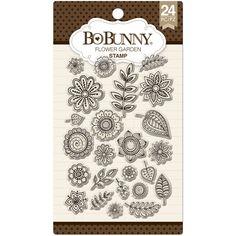"""BoBunny Essentials Stamps 4""""X6"""""""