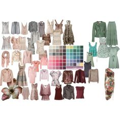 soft summer color palette