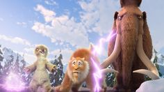 Ice Age 5 Collision Course Fluffy Day by DiegoSmilodon on DeviantArt Kid Movies, Disney Movies, Disney Pixar, Ice Age 5, Ice Age Collision Course, Music Clips, Movie Wallpapers, Official Trailer, Dreamworks