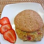 DIY: Grilled Strawberry Lime Turkey Burger