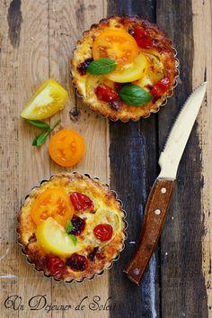 Un dejeuner de soleil: Tarte aux deux tomates