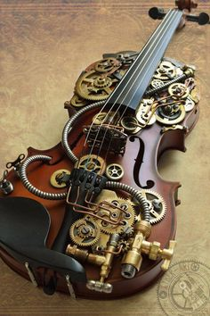Sherlock Violin by cybercrafts.devia… on Sherl… Sherlock Violin by cybercrafts.devia… on Sherl…,Steampunk Sherlock Violin by cybercrafts.devia… on Sherlock Violin by cybercrafts.devia… on Related posts:Eine moderne Inneneinrichtung in. Steampunk Kunst, Mode Steampunk, Steampunk Crafts, Steampunk Gadgets, Steampunk Cosplay, Steampunk Design, Steampunk Fashion, Steampunk Makeup, Gothic Fashion