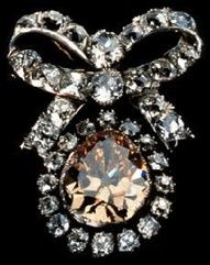 A Bow Of Royal Diamonds...from the Russian Crown Jewels.