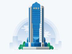 NBU Tower Tashkent by Artyom Khamitov🐉