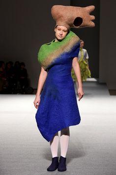 Tomoaki Mizuno Bunka Fashion Graduate University FW 2011
