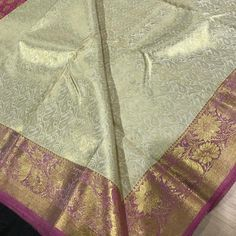 "148 Likes, 2 Comments - Casipillai Designer Collection (@casipillaidesignercollection) on Instagram: ""Back in stock Every Kanchipuram silk saree is amongst the most superior silks in the world…"""