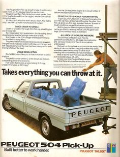 Peugeot 504 pick-up - Nice to have...!