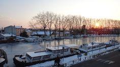 L'hiver a été rude le long du Canal du Midi