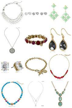 GIFT IDEA: Nine West, Steve Madden, Ann Klein, Napier, 1928 Jewelry from $3.00