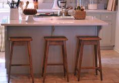 Our Home   New Kitchen Counter Stools Kitchen Counter Stools, Kitchen Island, Cocinas Kitchen, Herd, New Kitchen, Kitchen Remodel, Modern, House, Furniture