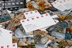 Cleverly designed business cards for renowned austrian artist Lois Renner. Business Cards, Artist, Visit Cards, Artists, Carte De Visite