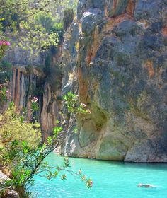 Looking for a great daytrip out of Valencia, Spain? Read all about the hot springs of Montanejos, or Fuente de Los Baños!
