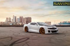 2013 CHEVROLET CAMARO ON SAVINI WHEELS SV57S
