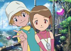 Digimon Kari and TK