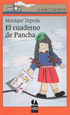 """""""El cuaderno de Pancha"""", Monique Zepeda, Ediciones SM."""
