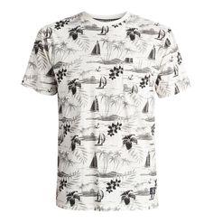 dcshoes, Ravencrest - T-Shirt, Antique White-1 (wcl1)