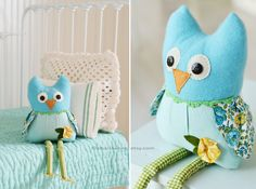 Both you (Lily & the owl) look so cute  ~ Ms.Owl by Charla Anne - Charla Anne Typepad ~