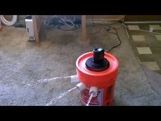 """Be Ready For Summer With Awesome DIY Air Conditioner - How to make a non-compressor based """"5 gallon bucket"""" air conditioner. simple DIY. items needed: bucket, styrofoam liner, pvc pipe, small fan, and ice. (small solar panel is optional). One frozen gallon jug of water lasted 6 hours. Temperature in house was 84F. cooled air was in the mid. 40F range."""
