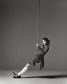 bjork on a swing…