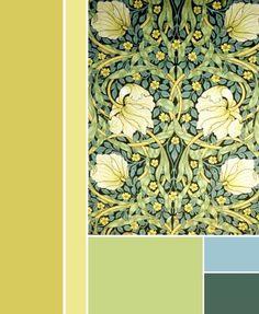 Color palettes william morris pesquisa google william morris william morris pimpernel wallpaper 1876 fandeluxe Images